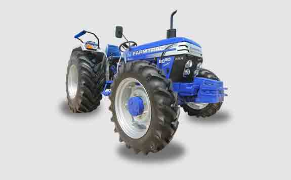 Farmtrac 6050 Executive 4WD