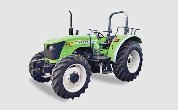 Preet 6549 4WD